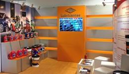 Diseño y producción stand Lubricantes